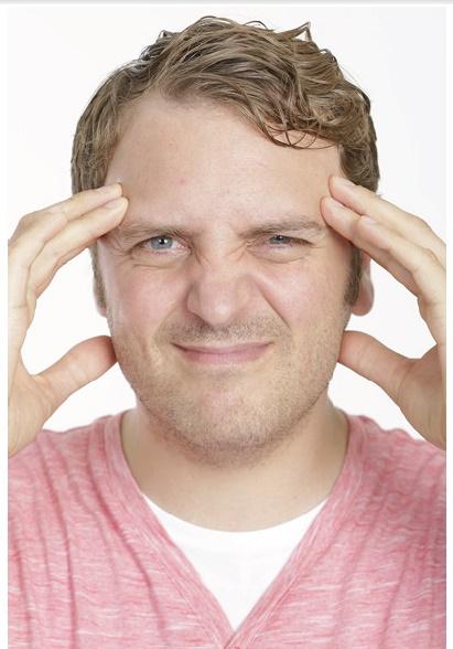 Hand am Kopf Stefan Wendel